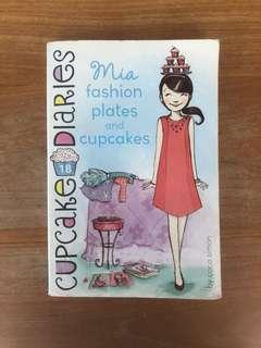 CUPCAKE DIARIES Mia Fashion Plates and Cupcakes By Coco Simon