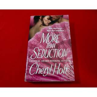 More Than Seduction by Cheryl Holt
