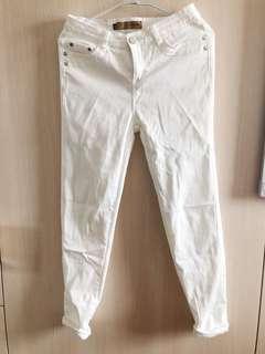 🚚 白色休閒長褲