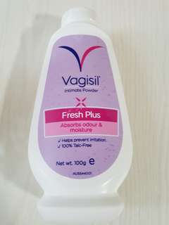 Vagisil intimate powder fresh plus 100g