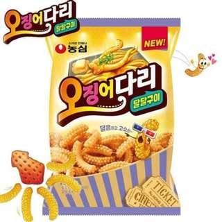 «Kimi Shop» 日本➜預購 韓國爆紅蜂蜜奶油魷魚餅乾