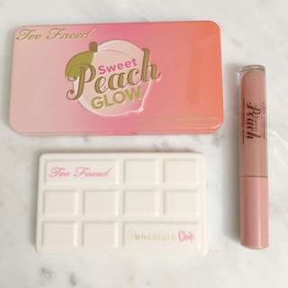 TOO FACED BUNDLE SWEET PEACH