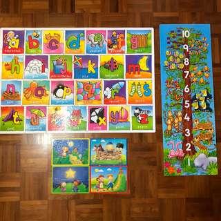 Puzzles (three)