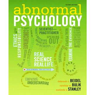 Abnormal Psychology, 2nd Edition (678 Page Mega eBook)