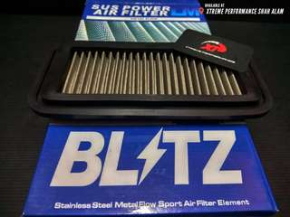 AIR FILTER BLITZ drop in TOYOTA VIOS 1st generation 2002 - 2007