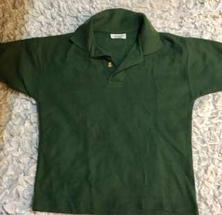 Green Polo Short (3-4 years old)
