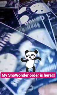 Ready stock-SnoWonder Gallon Pack