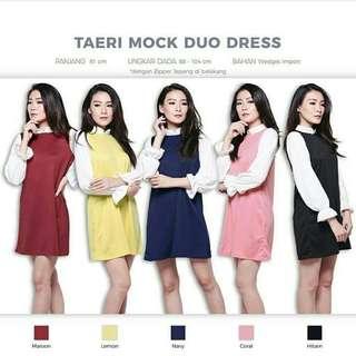 Taeri Mock Duo Dress