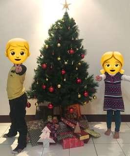 聖誕樹(含掛飾、大衛之星配件)