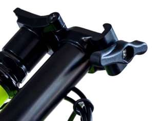 Brompton original black edition hinge clamp set