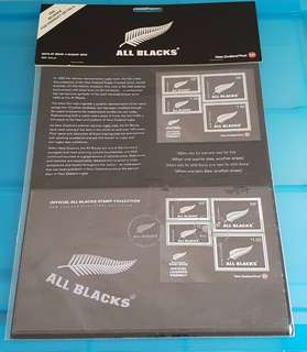2010 All Blacks New Zealand Stamp set