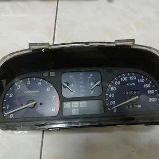 Honda City SX8 Meter