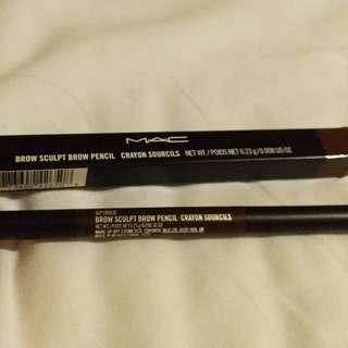 MAC sculpt brow pencil
