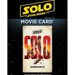 Limited Edition Movie Card - Solo: A Star Wars Story