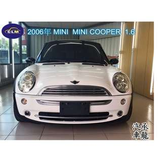 2006年 MINI  MINICOOPER 1.6  白黑色