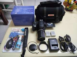 🚚 CANON SX50IS+2 Battery+Bag+Box+All (200x zoom Lens)