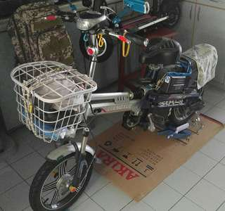 E bike Want to sell