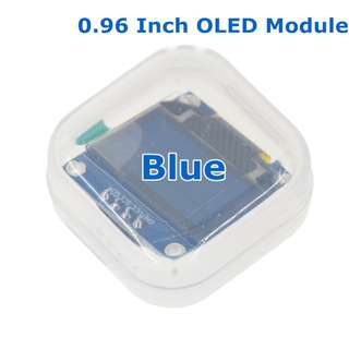 "Blue color 128X64 OLED LCD LED Display Module For Arduino 0.96"" I2C IIC Serial new"