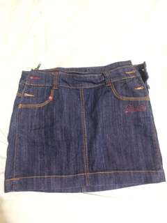 Dickies Denim Skirt (Fits 29-31)