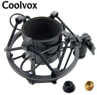 Metal Material Universal Microphone Shock Mount Shockmount  Fit for BM-800 BM700 Condenser Microfono Wired MIC Cradle Holder