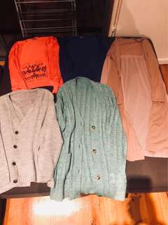 Jacket/cardigan bundle