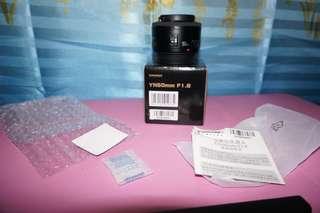 Canon Mount LENS F 1.8 yn50mm YONGNUO DIGITAL