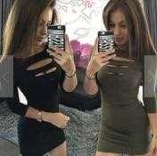 Chest Slit dress