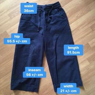 monki kai wide leg pants trousers