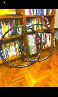 Bontrager rhythm comp wheelset