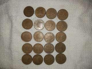 Duit lama, syiling lama untuk dijual