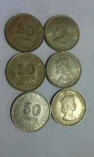 婆羅奶舊錢幣
