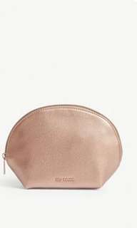 Ted Baker dome metallic wash bag
