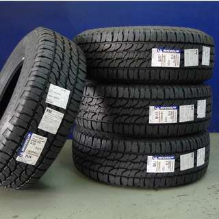 265/70/16 Michelin LTX Force