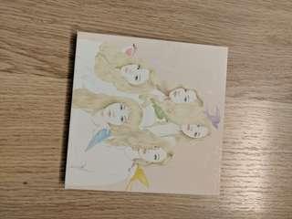 Red Velvet Ice Cream Cake CD 彩色版 wendy joy yeri卡
