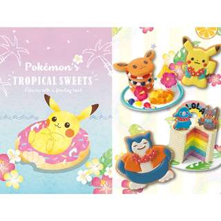 Pokemon Center Exclusive Tropical Sweets Series Black Board (Pre-Order)