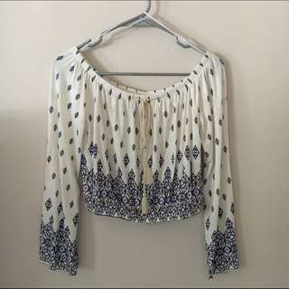 H&M divided bohemian offshie