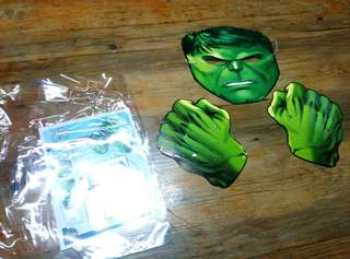 Avengers Hulk Mask cardboard Costume