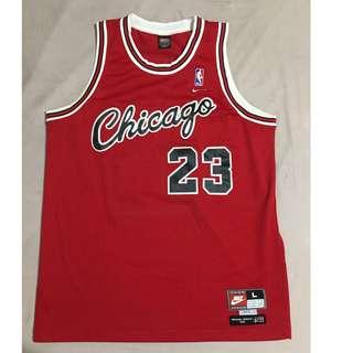 Michael Jordan Nike 1984 Flight 8403 Bulls jersey