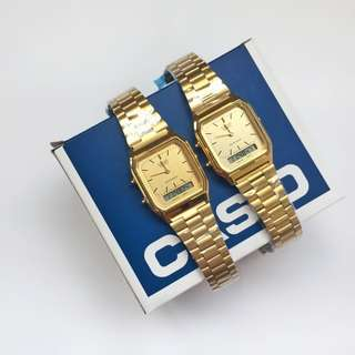 CASIO DUAL TIME
