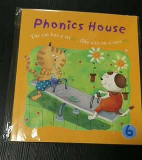 (New)Phonics House 6 附CD