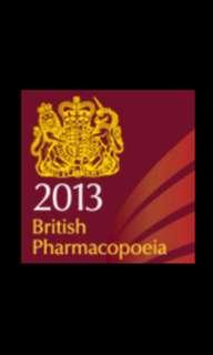 British Pharmacopoeia 2013 PDF copy