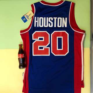 NBA 波衫 Adidas Original Pistons Allan Houston 復古球衣