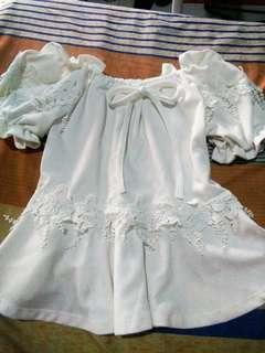 White half dress style