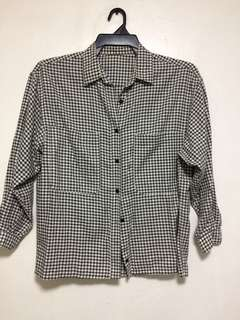 Gingham Long sleeves