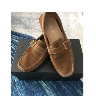 REPRICED Prada Suede Loafer