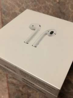 Apple Airpods sealed and warranty