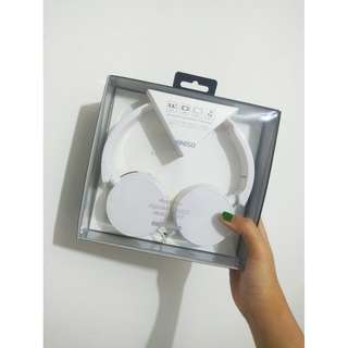 READY Foldable Wired Headset (White)