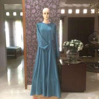 simple satin dress