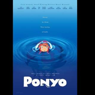 [Rent-A-Movie] PONYO ON THE CLIFF BY THE SEA (2008) [MCC004]