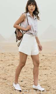 TCL unas shorts in white